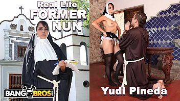 Bangbros - sacrilegious real life former nun yudi pineda has secret wishes