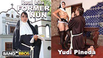 Bangbros - sacrílego ex-freira yudi pineda da vida real tem desejos secretos