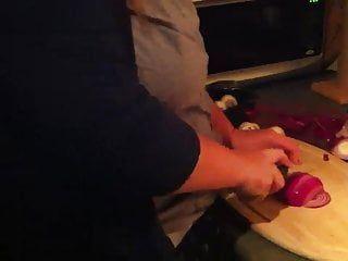 Eu amo cozinhar com minhas grandes bolhas de amor aparecendo mmm
