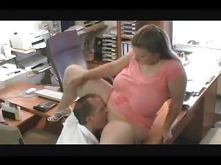 Hawt fuck 46 bbw with large natural love melons in the office