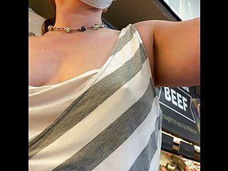 Braless shopping with nip slide