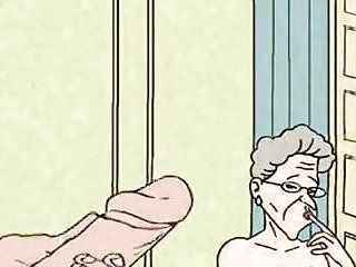 Comic - hawt grandma is concupiscent