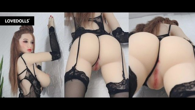 Oriental sex doll wm 171cm j cup jiggle video, lovedolls neverseen jade li head