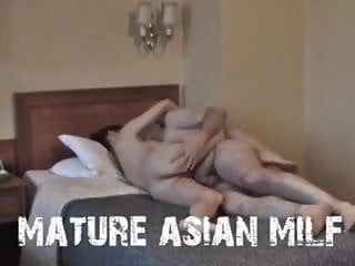 Saggy tit oriental milf