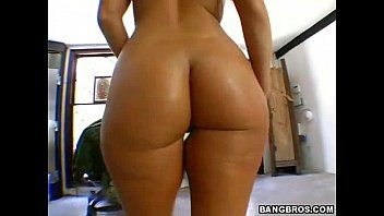 Um wazoo redondo bonito e um corpo fabuloso