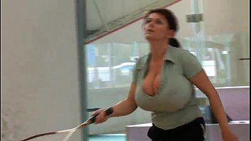 Milena velba breasty tennis