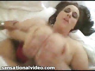 Massive tit chunky milf wife copulates bbc